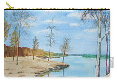 Somewhere In Dalarna Carry-all Pouch by Martin Howard
