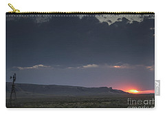 A Sunset Somewhere In Wyoming Carry-all Pouch