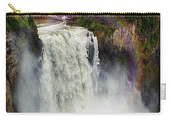 Somewhere Over The Falls Carry-all Pouch by James Heckt