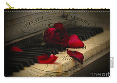 Sonata In Roses Carry-all Pouch