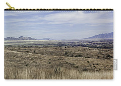 Carry-all Pouch featuring the photograph Sonoita Arizona by Lynn Geoffroy