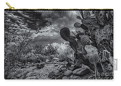 Carry-all Pouch featuring the photograph Sonoran Desert 15 by Mark Myhaver