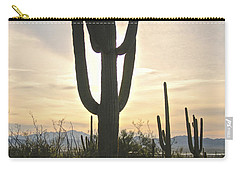 Sonoran Desert View Carry-all Pouch