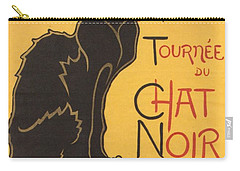 Soon The Black Cat Tour By Rodolphe Salis  Carry-all Pouch by Tracey Harrington-Simpson