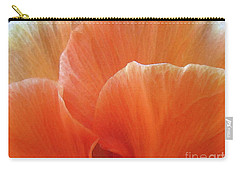 Carry-all Pouch featuring the photograph Soul Desire by Jean OKeeffe Macro Abundance Art