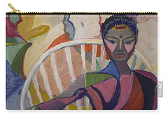 Soul Portrait Carry-all Pouch by Avonelle Kelsey