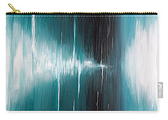 Carry-all Pouch featuring the painting Hear The Sound by Michelle Joseph-Long
