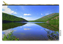 South Branch Pond Carry-all Pouch by Elizabeth Dow