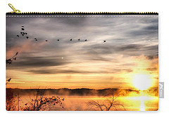 Carry-all Pouch featuring the photograph South Carolina Morning by Lynne Jenkins