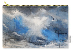 South Maple Road   Ann Arbor Michigan Carry-all Pouch by Yoshiko Mishina
