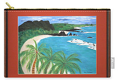 Carry-all Pouch featuring the painting South Pacific by Ron Davidson