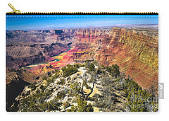 South Rim From The Butte Carry-all Pouch by Robert Bales