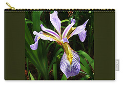 Southern Blue Flag Iris Carry-all Pouch
