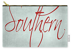 Southern By The Grace Of God Carry-all Pouch