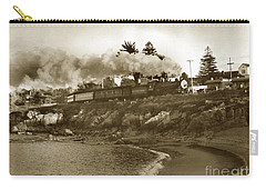 Southern Pacific Del Monte Passenger Train Pacific Grove Circa 1954 Carry-all Pouch