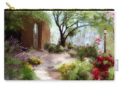 The Meditative Garden Carry-all Pouch
