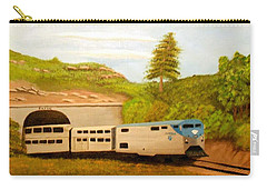 Southwest Chief At Raton Pass Carry-all Pouch