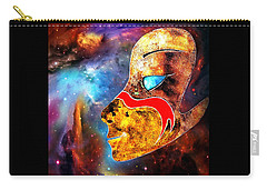 Carry-all Pouch featuring the painting Space  Glory by Hartmut Jager
