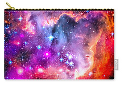 Space Image Small Magellanic Cloud Smc Galaxy Carry-all Pouch