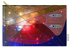 Space Odyssey 08 Carry-all Pouch by Ron Davidson