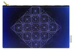 Space Time Sine Cosine And Tangent Waves Carry-all Pouch by Jason Padgett