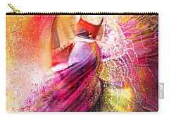 Spain - Flamencoscape 12 Carry-all Pouch by Miki De Goodaboom