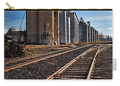 Spangle Grain Elevator Color Carry-all Pouch