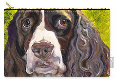 Spaniel The Eyes Have It Carry-all Pouch