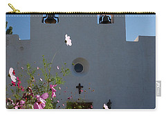 Carry-all Pouch featuring the photograph Spanish Mission by Susan Rovira