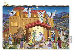 Spanish Nativity Carry-all Pouch