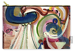 Spanish Rose Carry-all Pouch by Stephen Lucas