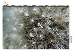 Carry-all Pouch featuring the photograph Sparkler - Closeup by Ramabhadran Thirupattur