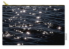 Sparkling Waters At Midnight Carry-all Pouch