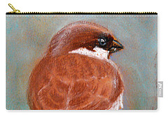 Sparrow Carry-all Pouch by Jasna Dragun