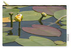 Spatterdock Heart Carry-all Pouch