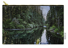 Carry-all Pouch featuring the photograph Spawning A River by Belinda Greb
