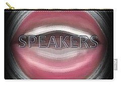 Speakers Carry-all Pouch by Catherine Lott