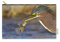 Carry-all Pouch featuring the photograph Speared by Bryan Keil
