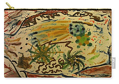 Carry-all Pouch featuring the painting Evolution by Thomasina Durkay