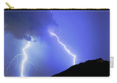 Spectacular Double Lightning Strike Carry-all Pouch