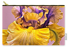Spectacular Iris Close Up Carry-all Pouch