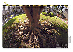 Carry-all Pouch featuring the photograph Spherical Rooting by Clayton Bruster