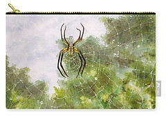 Spider In Web #2 Carry-all Pouch