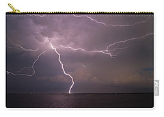 Spider Lightning Over Charleston Harbor Carry-all Pouch