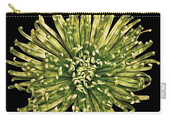 Carry-all Pouch featuring the photograph Spider Mum by Jerry Fornarotto