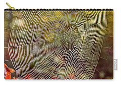 Spider Web Carry-all Pouch by Edward Fielding