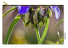 Spiderwort Carry-all Pouch