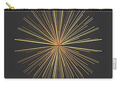 Carry-all Pouch featuring the digital art Spikes... by Tim Fillingim