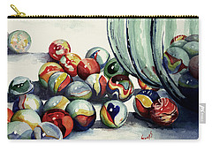 Spilled Marbles Carry-all Pouch by Sam Sidders