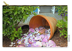Carry-all Pouch featuring the photograph Spilled Shels by Gordon Elwell